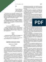Concursos de professores  Decreto Lei 132 2012