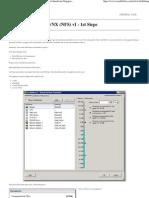 Installing the UBER VNX (NFS) v1
