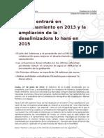 La EDAR entrará en funcionamiento en 2013 y la ampliación de la desalinizadora en 2015