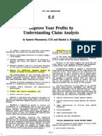 (2) Understanding Claim Analysis