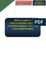 Resultado de la aplicación práctica de la herramienta de evaluación control y seguimiento para la comunicación y el clima del aula basado en cuestionarios elaborados específicamente para ello