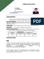 Resume OF DR. S.YADAV