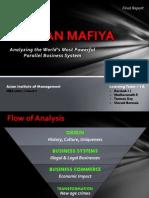 Russian Mafiya - A Business System Analysis
