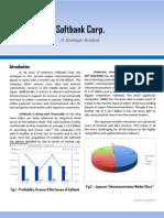Softbank Japan - Technology Strategy Analysis