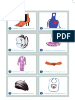 Clothes and Accessories LW Flashcards