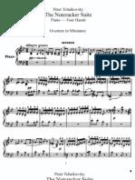 Tchaikovsky- Suite Del Cascanueces (Piano a Cuatro Manos)