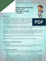 Ejemplo Game Design Document #1