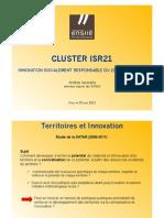 Cluster ISR 21 à Evry - Andrea Iacovella