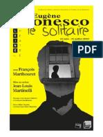 Eugène Ionesco Solitaire
