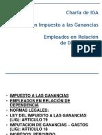 Retención Impuesto a las Ganancias Empleados en relacion de Dependencia_(05_12_2011)