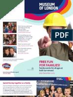 Free Fun for Families Jul - Dec 2012