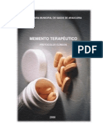 Momento terapeutico - protocolos clínicos
