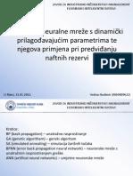 FIS - Dinamički prilagođavajući parametri modela BP neuralnih mreža