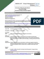INSDSG Project Management for Instructional Designers