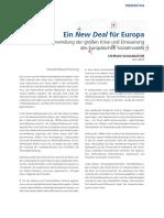 EIN NEW DEAL FÜR EUROPA (De)