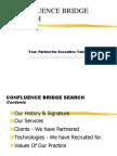 Confluence Bridge Search - Intro