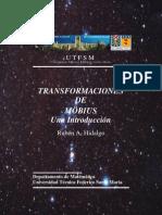 [Article] Transformaciones De Moebius Una Introducción