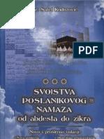 Svojstva Poslanikovog sallallahu alejhi we sellem namaza od abdesta do zikra - Safet Kuduzović