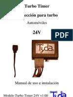 Turbo Timer 24V Micro Manual de Usuario Descarga