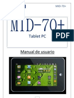 Manual Overtech Tablet Mid 70