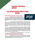 EXPLICATIVO DO MATERIAL DE REVISÃO DE CONTRATOS BANCÁRIOS