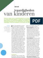 Jrg95 Nr4 December2010 E.kuiper Internetvaardigheden Van Kinderen Pag 36 39