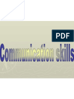 Commucation Skills