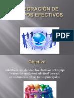 Integracion de Equipos Efectivos