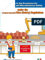 A Guide to the Provisions for Excavations and Miscellaneous Safety Under the Construction Sites (Safety) Regulations