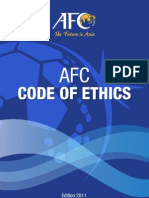 AFC Code of Ethics 2011ed