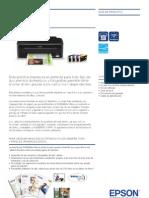 Ficha Técnica Impresora Epson Stylus s22