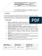 Procedimiento de Servicio de Informacion y Atencion Al Usuario Psiau-julio 21 de 2010
