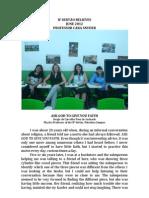 IF Sertão Believes- Belief Statements June 2012
