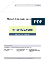 Manual Iniciacao Programacao