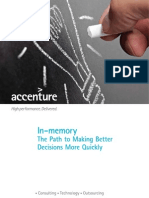 In-Memory-Path to Better Decisions Using AnalyticsOV