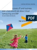 Key Questions Executive Ask About Cloud Computing ERP
