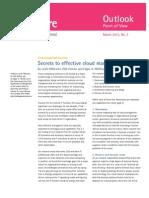 Secrets to Effective Cloud Management Outsourcing
