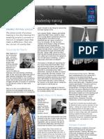 Pioneer Leadership News April 2012