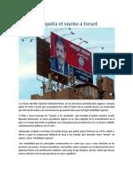 Morsi quita el sueño a Israel