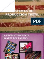 Sistemas de Produccion Textil Diapositivas