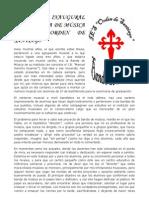 CONCIERTO INAUGURAL DE LA BANDA DE MÚSICA DEL IES ORDEN DE SANTIAGO