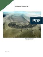 Burning Man 2011 Operating Plan