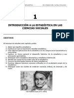 Introduccin a La Estadistica en La Cs