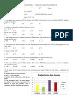 Exercícios de Matemática - 6º ano