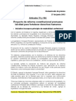 Comunicado - Estado Laico (27!6!2012) ME Venegas