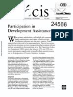 Participation Development Assistance