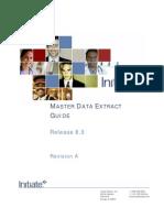 8.0 Master Data Extract Guide_RevA
