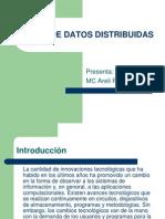 Bases de Datos Distribuidas Unidad 1