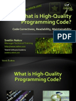 2. What is High Quality Programming Code