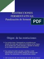 Restricciones Fermentativas